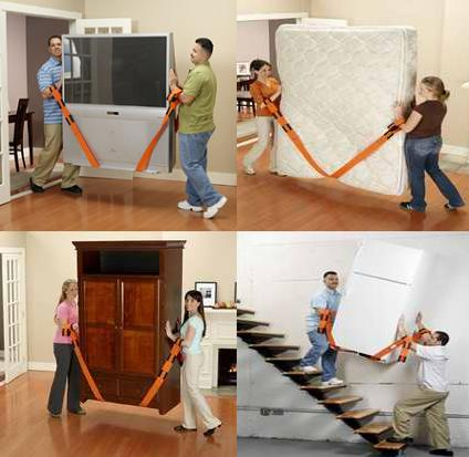 Forearm Forklift Adjustable Moving Straps As Seen On Tv