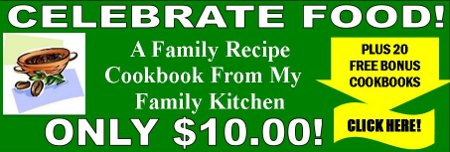 family recipe cookbook